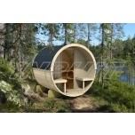 Barrel sauna REY 1 with one room
