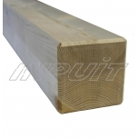 Timber post 1,0 m, 70 mm x 70 mm