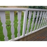 Balcony barrier post