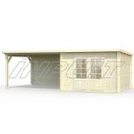 Garden house/shed ELLA 8,7+8,2 m2