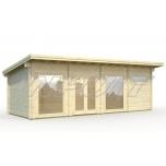 Garden house HEIDI 22,8 m2