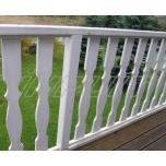Balcony barrier picket