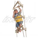 Rope ladder triangular