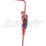 Metal fireman's pole