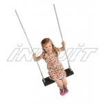Rubber swing seat LONGI with chains