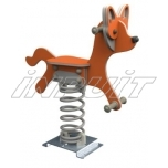 Spring toy FOX