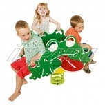 Spring toy FROG quartet