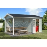 Garden house/shed WIBO 12,35 m2