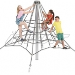 Armed rope pyramid net 2,0 m