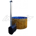 Hot tub 1500 l fiberglass, external heater