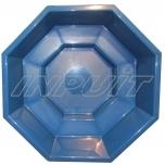 Hot tub 2300 l fiberglass, inner element