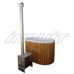 Hot tub 800 l fiberglass, external heater