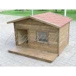 Uninsulated dog house ROCCO