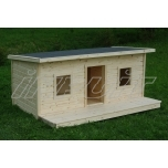 Insulated dog house CHARLY 2