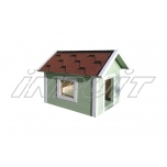 Uninsulated dog house JACKY