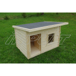 Uninsulated dog house REX