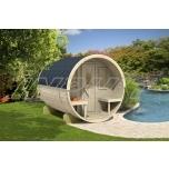 Barrel sauna REY 3 with one room