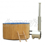 Hot tub LUX 200 plastic, external heater