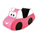 Soft play equipment CAR pink