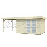 Garden house/shed LARA 8,4+5,9 m2
