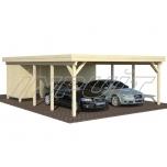Carport KARL 40,6 m2