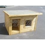 Insulated dog house REX