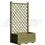 Flower box with trellis GERDA