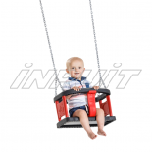Rubber baby seat CURVE with chains