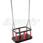 Rubber baby seat TRADITSIONAL with chains