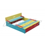 Sandbox with cover SEPP 1200 x 1200 mm