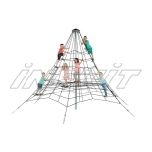 Armed rope pyramid net 3,5 m