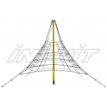 Armed rope pyramid net 2,7 m