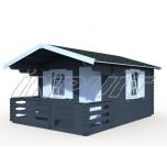 Garden house EMMA 10,4+4,2 m2