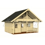 Saun LEILA 20 + 10,4 m2 nelja ruumiga