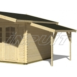 Canopy roof 4,3 m2