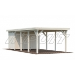 Carport KARL 23,1 m2 extension