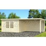 Garden house/shed ELLA 8,7+10 m2