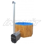 Hot tub 1000 l fiberglass, external heater
