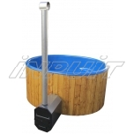 Hot tub 1700 l fiberglass, external heater