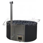 Hot tub 1700 l fiberglass, internal heater