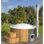 Hot tub DELUXE 200 plastic, internal heater
