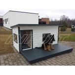 Soojustatud terrassiga koerakuut BOSS 4