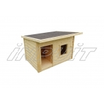 Uninsulated dog house DONNA 2